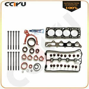 2004 2005 For Chevrolet Aveo 1 6l Dohc Cylinder Head Gasket Set With Bolts Kit