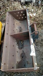 Jcb 47 Excavator Grading Ditch Cleaning Bucket Backhoe 1 1 4 Pins