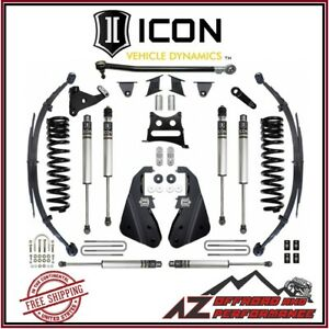 Icon 2017 Up Ford F250 F350 Super Duty 4wd 7 Suspension System Stage 1 Kit