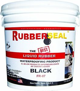 Liquid Rubber Seal Waterproofing And Protective Coating 1 Gallon Non toxic