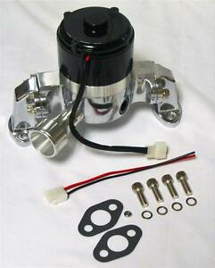 Small Block Chevy Electric Water Pump 283 305 350 400 High Volume Flow Polished