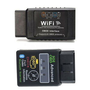 Wifi Bluetooth Auto Car Fault Obd2 Diagnostic Tool Scanner Code Reader Usa