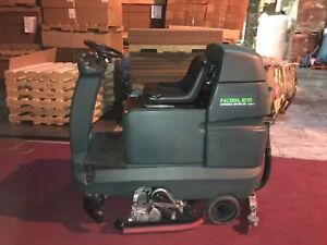 Nobles Speed Scrub Rider 32 Riding Floor Scrubber New Batteries