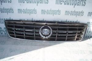 2000 2001 Cadillac Catera Oem Front Hood Grille Grill Chrome Emblem