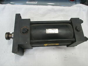 Parker Hydraulic Cylinder Series 2h 04 00 J2hltj155a used