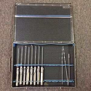 Acufex Surgical Instrument Set With Sterilization Case
