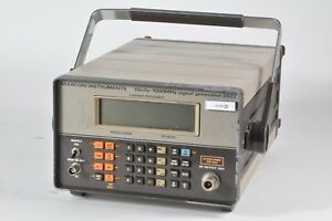 As Is Marconi Instruments 10khz 1000mhz Signal Generator 2022