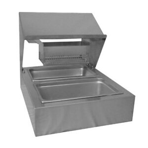 Pvi Fs Bss Stainless Countertop Bread Batter Station