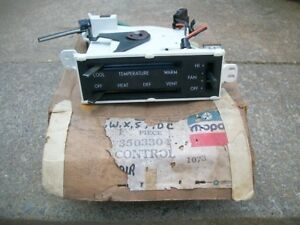 1974 1975 Plymouth Dodge Chrysler Nos Mopar Heater Control Unit 3503304