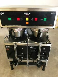 Wilbur Curtis Gemini Twin Coffee Brewer Gem 12d 10