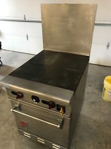 Wolf C24s 1b Natural Gas Hot Plate W Full Size Oven