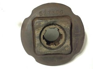 527380 A Used Drive Hub For A New Idea 5406 5407 5408 5409 5410 Mowers