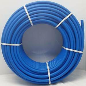 3 4 300 Coil Blue Certified Non barrier Pex Tubing Htg plbg potable Water