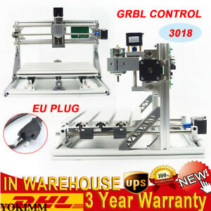 Mini 3 Axis 3018 Grbl Control Cnc Router Milling Wood Engraving Machine Printer