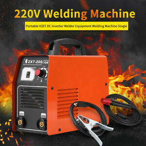 Zx7 200 Smart Chassis Portable Igbt Inverter Dc Welding Machine 220v Mma Welder
