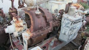 General Electric Steam Turbine Drv 518 750kw Less Generator Speed 12 073 1 200rp