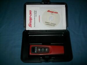 Snap on Tpms2 Tire Pressure Monitor Sensor Version 1 2 In Case Exc