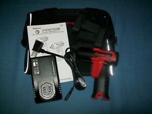 New Snap on Lithium Ion Ct761aqc 1 4 Drive Hex Quick Change Impact Driver Kit