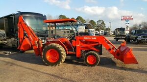 Kubota L 48 Tlb Tractor Loader Backhoe Looks Runs Likenew