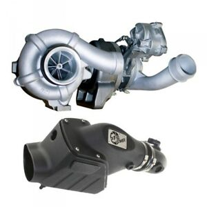 08 10 Ford 6 4l Diesel Bd power Twin Turbo Upgrade With Intake System