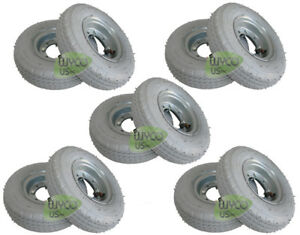10 Pneumatic Wheels Tennant T5 A5 Walk Behind Scrubbers Repl 1059452 New