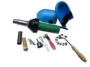 110v Plastic Heat Gun Vinyl Floor Hot Air Welding Kit And Accessories