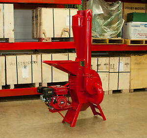 Hammer Mill Feed Grinder 7 5hp Gasoline Engine Powered Usa In stock W support