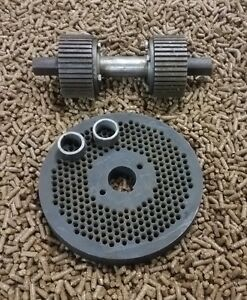 9 230mm Roller Assembly And Die For Replacement Or Homemade Pellet Mill New