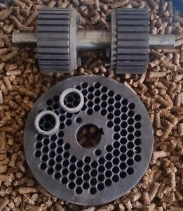 6 150mm Roller Assembly And Die For Replacement Or Homemade Pellet Mill New