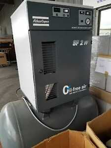 Atlas Copco oil Free Air Industrial Air Compressor Sf2ff Made In Belgium