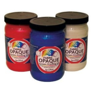 Opaque Fabric Screen Printing Ink Color Raspberry Size 3 88 X 3 88
