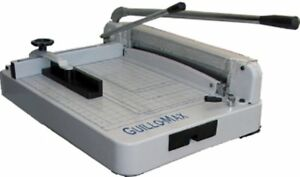 Tamerica Guillo max Heavy duty Stack Manual Power Paper Cutter 360 Sheets Or Of
