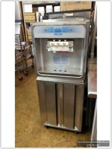 Taylor 168 27 Soft Serve Freezer Air Cooled 220 Volts 60 Hz Single Ph Used
