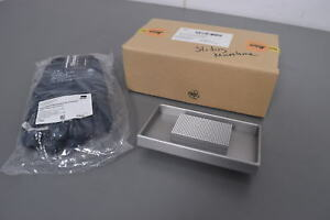 Leica Dry Ice Tray 14050842641 Sliding Microtome Plate With Gloves New