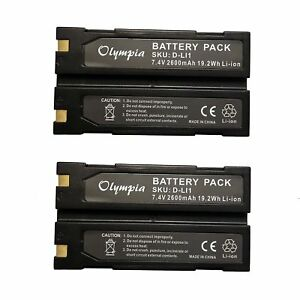 2 Pack Of Trimble 54344 Battery Replacement For Trimble Tr r8 Gps Battery