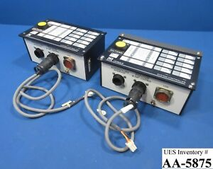 Leybold Vacuum 307285 2003 System Controller Reseller Lot Of 2 Used Working