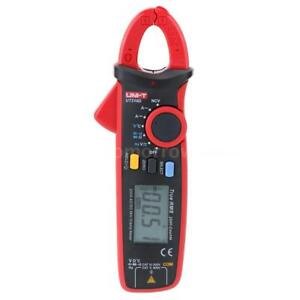 Uni t Ut210d Lcd Digital Clamp Multimeter Voltmeter Ammeter Ohm temp Tester O5d4