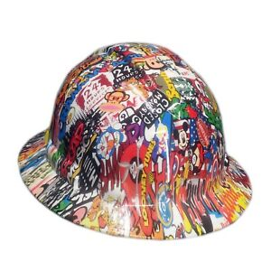 Stickerbomb Pyramex Ridgeline Hard Hat