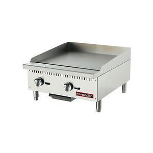 Fridgcon Ftmg 24 24 Commercial Griddle Natural Nat Gas