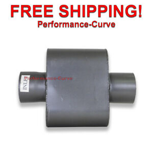 One Chamber Performance Race Muffler 3 5 Center Center Single Chamber 1