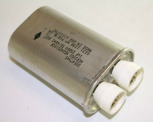 1uf 2500vac Microwave Oven Motor Capacitor 2500v Ac 1mfd 2500 Volts Run 1 Mfd