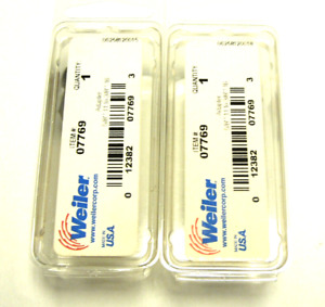 New Sealed Lot Of 2 Weiler 07769 Adapter 5 8 11 To 3 8 16