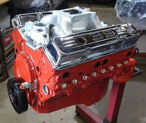 400 Hp Chevy 383 Stroker Engine Motor With New Cast Iron High Flow Heads