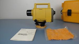 Topcon Dl 103 Af Construction Digital Level With Auto Focus With Case