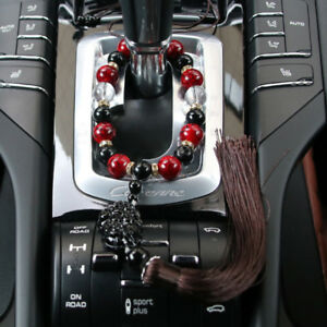 Car Ornaments Buddha Beads Auto Interior Rearview Mirror Hanging Decoration Gift