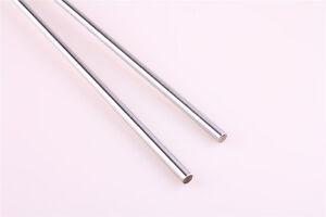 2pcs Cylinder Rail Linear Shaft Smooth Rod Optical Axis Od 6 16mm L 100 500mm