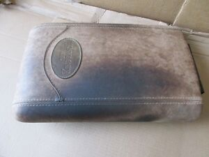 03 06 Ford Expedition King Ranch Center Console Storage Saddle Leather Armrest