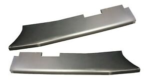 1939 1940 Ford Deluxe Standard Models Steel Running Boards Set New Pair