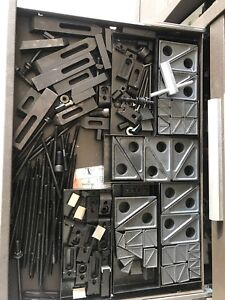 Huge Lot Of Teco Clamps And Blocks