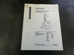 Raymond Easi Reach Fork Lift Truck Easi Deep Reach Lift Truck Schematics Manual